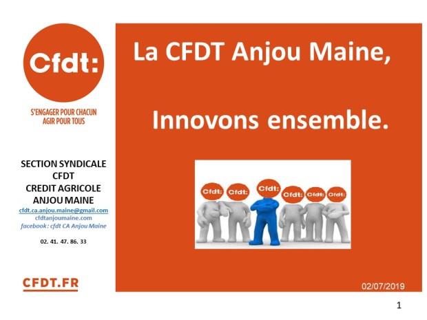 Présentation CFDT 2019